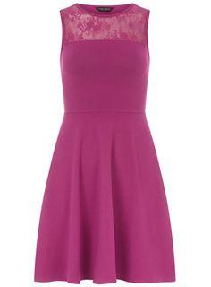 Berry mesh top dress