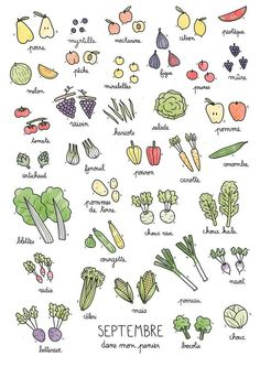 food sketch black and white . Le Chou Kale, Chou Rave, Food Sketch, Batch Cooking, Fruit In Season, Bullet Journal Inspiration, Journal Ideas, Vegetarian Cooking, Food Illustrations