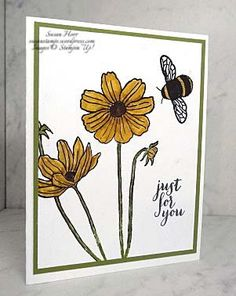 Stampin' Up! Helping Me Grow (retiring) & Dragonfly Dreams |