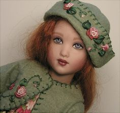 Doll Clothes Patterns... Tea Flowers Jacket
