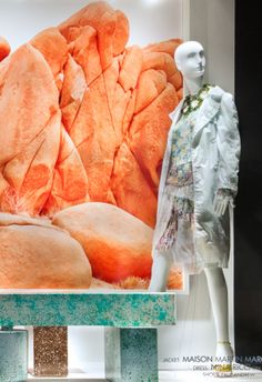 Frieze Art  Fair curated by Salon, Nina-Ricci #inspiration #shopwindow #visualmerchandising #fashion