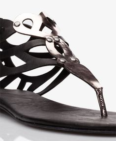Cutting Edge Geo Sandals | FOREVER 21 - 2039339068