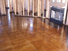 Acid Stained Concrete Floors - Decorative Concrete Overlay Specialist - Architectural Concrete - Acid Stained Interior Concrete
