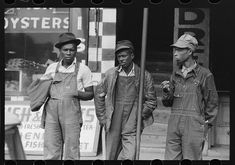 Negroes in market square, Waco, Texas