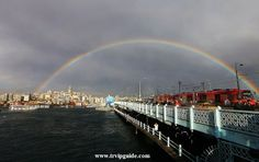 Радуга над Стамбулом :) Всем доброго утра! Отличного настроения и удачного дня! Услуги гидов в Стамбуле http://trvipguide.com/guide-in-istanbul