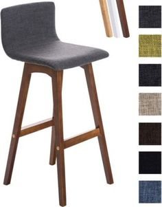 Barhocker TAUNUS, Stoffbezug, Sitzhöhe 72 cm, Rückenlehne + Fußstütze Jetzt bestellen unter: https://moebel.ladendirekt.de/kueche-und-esszimmer/bar-moebel/barhocker/?uid=35af0dbc-ebf8-5748-926f-aeaefcd80906&utm_source=pinterest&utm_medium=pin&utm_campaign=boards #barhocker #kueche #stehtische #esszimmer #barmoebel