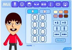 Create your character and post it in the comments or in the forum. Create your Mii character here It's a… Create Cartoon Character, Create Your Character, Create A Cartoon, Cartoon Characters, Cartoon Avatar Maker, Mobiles, Make Avatar, Simple Web Design, Character Creator