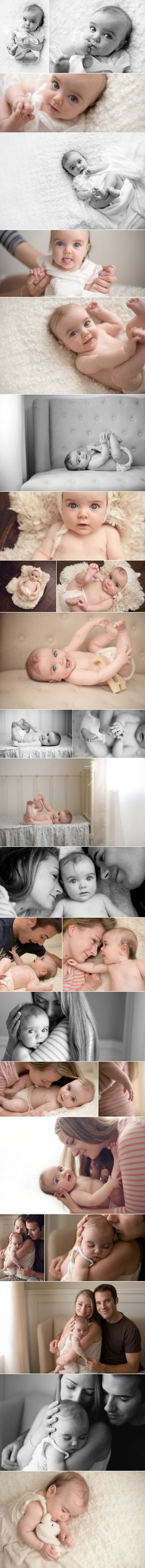 THIS is how a baby shoot should be. no obviously posed shot, no props. just a lovely mama, gorgeous light & one beautiful baby.