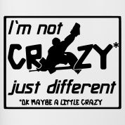 You have to be a little crazy to be a goal tender. :)