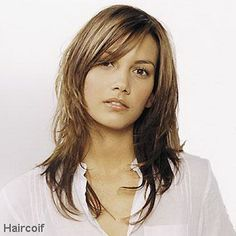 Exemple de coupe de cheveux long
