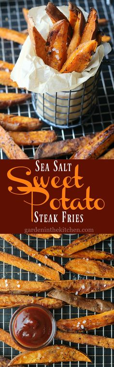 Sea Salt Sweet Potato Fries