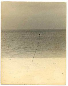 Masao Yamamoto /  'The voice of the sea is seductive, never ceasing, whispering, clamoring, murmuring, inviting the soul to wander in abysses of solitude.' Kate Chopin, 'The Awakening.'