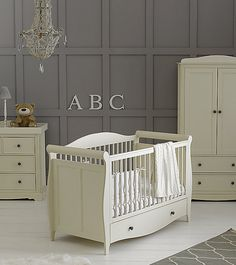 Mothercare Bloomsbury Furniture Set - Ivory - LittleSprogs