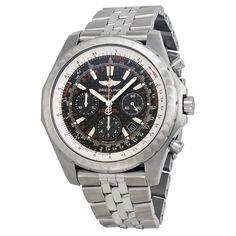 Breitling Bentley Motors T Black Dial Stainless Steel Men's Watch