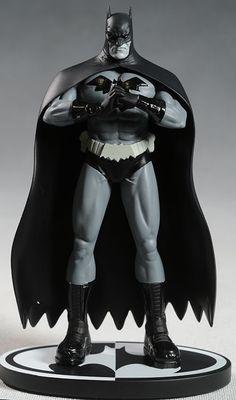Batman Black White Gleason statue by DC Direct