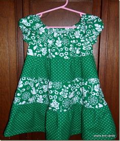 Cute St. Patrick's Day dress but you could wear it all spring/summer
