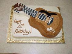 guitar cakes for men - guitar cake ` guitar cake ideas ` guitar cakes for men ` guitar cake tutorial ` guitar cake topper ` guitar cake ideas birthday ` guitar cake easy ` guitar cake design Music Birthday Cakes, 40th Birthday Parties, Man Birthday, Birthday Ideas, Paintball Birthday, Guitar Cake, Fender American, Cupcake Cakes, Cupcakes