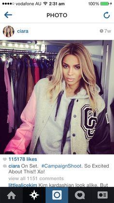Ciara's hair.