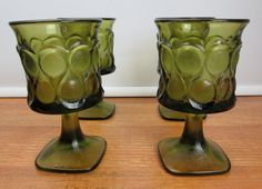 34977745f51 Four vintage 1970s mod Noritake Spotlight water by CircularVintage Wine  Goblets