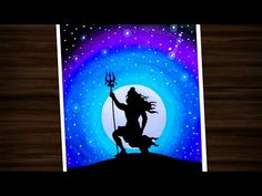 In this video I'll show you how to draw Lord shiva moonlight unique drawing step by step for be. Oil Pastel Paintings, Oil Pastel Art, Oil Pastel Drawings, Indian Art Paintings, Unique Paintings, Unique Drawings, Art Drawings Sketches Simple, Colorful Drawings, Mandala Art