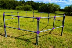 portable horse corrals and products - or chicken run, with some wire added
