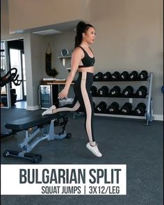 Home Exercise Program, Home Exercise Routines, At Home Workout Plan, Workout Programs, Workout Plans, Step Workout, Workout Guide, Post Workout, Split Squat Jumps