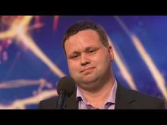 Paul Potts sings Nessun Dorma, get ready to get shocked!  The Good kinda shocked!