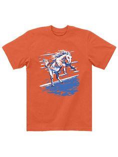 """Peyton Manning Denver Broncos /""""Its Manning Time/"""" jersey T-shirt  S-5XL"""