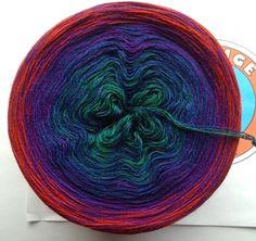 """Wolle - 273g/900m 100% Merino extrafein """"Kronjuwelen"""" - ein Designerstück von OrangeSox bei DaWanda"""