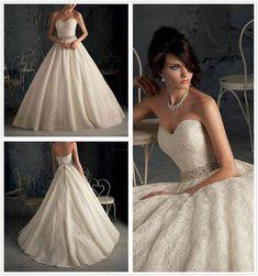 Vestido de novia corte princesa REF:Virtu98 :: Virtual Novia Book
