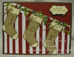 Stamp & Scrap with Frenchie: Staircase for Stampin'Up! Stocking Punch. Video