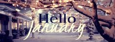 Hello January ~ Facebook cover photo