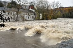 Walker's Mill along the Brandywine in Wilmington DE...taken the morning after Hurricane Sandy passed though Delaware...photo by me(Elaine Kucharski)