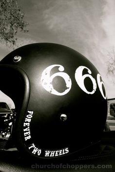 Custom helmet!
