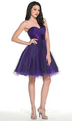 A-Line Organza Sweetheart Knee Dress fashion01518