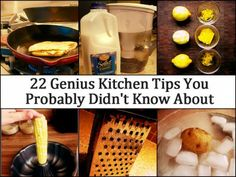 22 Genius Kitchen Tips You Probably Didn't Know About