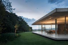 casa vidrio
