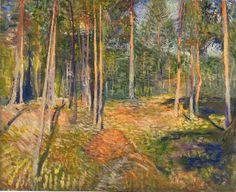 """Edvard Munch: """"A Sunbeam"""", 1891"""