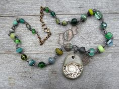 """saraccino: Component of the month at Art Jewelry Elements - """"Out of time"""" Necklace"""