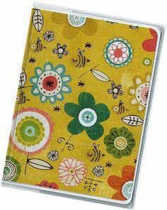 Passport Cover  Garden Floral passport holder by rabbitholeonline, $5.25