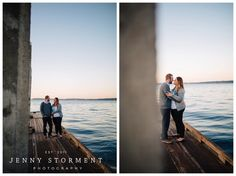 Port Gamble Engagement photos by Jenny Storment Photography