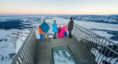 Panorama Aussichtsplattform Stockhorn - Atemberaubende Aussicht für Schwindelfreie