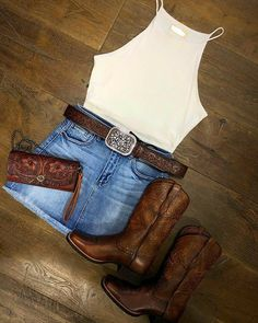 Look for a wonderful variety of females' floor remarkable shoes, surf rogue, pour, riding boots and a lot more. Cute Cowgirl Outfits, Cowboy Boot Outfits, Rodeo Outfits, Western Outfits, Cowgirl Boots, Western Wear, Cute Outfits, Cowgirl Tuff, Western Dresses