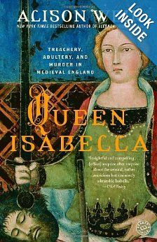 Queen Isabella (21st gg) - married the bisexual Edward II of England as a 12-year-old, lived with him for 17 years, bore him four children, fled to France in fear of his powerful favorite, returned with her lover, Roger Mortimer, to lead a rebellion and place her son on the throne and eventually saw Mortimer executed as her son asserted his power.