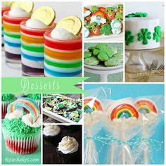 St. Patrick's Day recipes  @Christa Cleveland these mini trifles are cuter, but probably take longer...