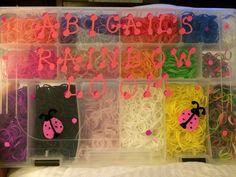 Rainbow loom box