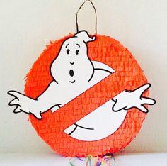 Birthday Celebration Ghostbuster Pinata. Celebración cumpleaños piñata de Cazafantasma de ArteAnadal en Etsy https://www.etsy.com/es/listing/537898819/birthday-celebration-ghostbuster-pinata