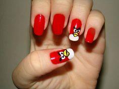 Unhas da Semana - Angry Birds