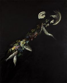 Painting by London based artist Emma Bennett #art