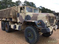 Surplus 1990 BMY M923A2 6x6 Cargo Truck in Fort Polk, Louisiana, United States (GovPlanet Item #571434)
